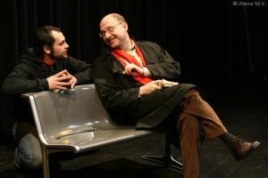 Foto: Jerry (Lion Howitsch) und Peter (Vladislav Grakovskiy)